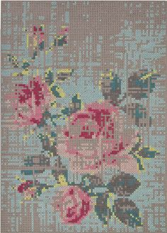 Is this the most amazing rug in the world or is this the most amazing rug in the world?          Woven Ground  Canveous Flower: Picture from...
