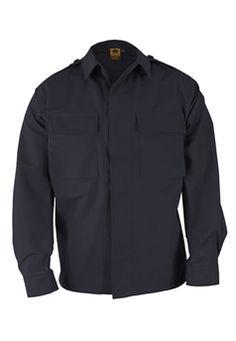 Propper F545212405 Long Sleeve Dark Navy BDU Shirt ! Buy Now at gorillasurplus.com