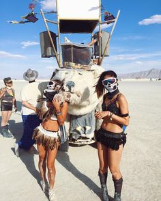 Can't Take Eyes Off These Burning Man Looks – Lupsona