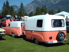 1950 Pontiac Sedan delivery and matching Boler trailer