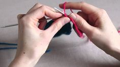 How to Knit an Applied iCord Edge in a Contrast Colour