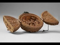 Rare Century Gothic Boxwood Carvings Are So Miniature Researchers Used X-Ray To Solve Their Mysteries – Steampunk Tendencies Puzzle Art, Small Sculptures, Religious Art, 16th Century, Middle Ages, Metropolitan Museum, Decorative Bowls, Mystery, Ideas