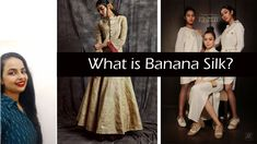 Banana Silk fabric is a very old fabric about which very few of us know. its a natural fabric,cruelty free and is now used by many Indian fabric aand clothin. Indian Fabric, Silk Fabric, Fashion Words, Fashion Basics, Word Of The Day, Basic Style, Sequin Skirt, Banana, Clothes