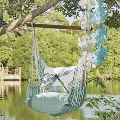 Dragonfly Hammock Swing and Pillow