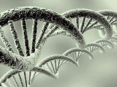 DNA helix...