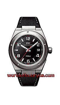 IWC - Ingenieur Automatic AMG Men's Watch - IW322703 (Titanium / Black Dial / Black Synthetic Strap) - See more at: http://www.worldofluxuryus.com/watches/IWC/Ingenieur/IW322703/185_202_898.php#sthash.DydwJ7IX.dpuf