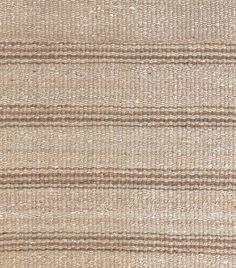 MASINFINITO CASA - Alfombra Dash & Albert Jute Ticking Natural Woven Rug