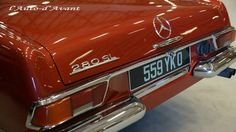 Mercedes 280SL / Photo by P.G.Perron