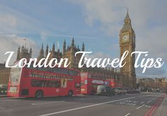 Planning a trip to London? Here are some of my top London travel tips to help YOU save money! | #TravelTip #London #UK |