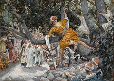 File:Brooklyn Museum - Zacchaeus in the Sycamore Awaiting the Passage of Jesus (Zachée sur le sycomore attendant le passage de Jésus) - James Tissot.jpg - Wikimedia Commons