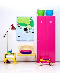 Neon Kids Room / Jenni Juurinen #kidsroom