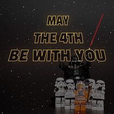 May the fourth be with you. Happy Star Wars Day! #MayTheFourthBeWithYou