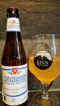 Mongozo Buckwheat White Beer. Watch the video beer review here www.youtube.com/realaleguide #CraftBeer #RealAle #Ale #Beer #BeerPorn #MongozoBuckwheatWhiteBeer #Mongozo #BuckwheatWhiteBeer #Buckwheat
