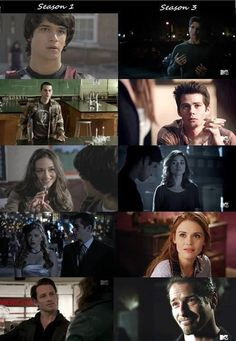 Season 1 to Season 3 Teen Wolf