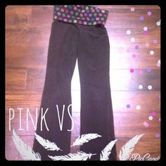 👠5 for $20👠PINK VS yoga pants Cute!!⭐️💕⭐️💕BUNDLES OF 5 OR MORE LISTINGS ARE 5⃣0⃣% OFF!⭐️💕⭐️💕⭐️**buyer responsible for extra shipping if applicable**💕Items marked final sale are still eligible for bundle discounts, however I will not accept offers on them. 💗cannot be combined with 5 for $20 discount 🍧 PINK Victoria's Secret Pants Track Pants & Joggers