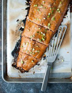 Baked Butter Salmon