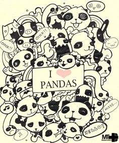 cute doodles to draw | rock and roll doodle 27 1 love pandas 22 doodle 14 vanessa 4 summer 16 ...