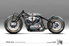 Indian Chief - Visualizing Custom Motorcycles by Holographic Hammer ~ www.motorivista.com