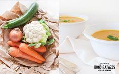 Food | Sopa De Couve-Flor E Cenoura