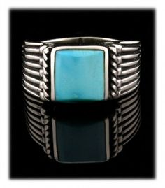 Sleeping Beauty Turquoise Ring - one of many on my Sleeping Beauty Turquoise Ring info page.