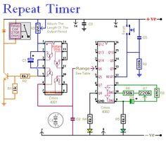 Repeat Timer Circuit Diagram