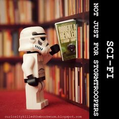 Secret Lives of Stormtroopers: At the Library