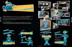 Campanha de Comunicação Interna: design e merchandising
