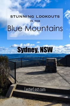 Travel Australia | Travel New South Wales | Australia's Blue Mountains | Sydney Day Trips | Road Trips | Sightseeing | Australia | Sydney