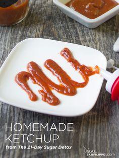 Homemade Sugar-Free Ketchup | Balanced Bites