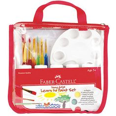 Kids Coloring Set, Faber Castell | Kids Gift Set | Beeswax Crayons ...