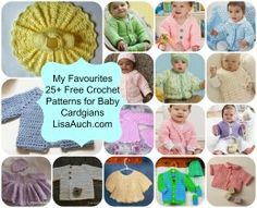 Free Crochet Patterns for Baby Cardigans