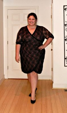 Still obsessed with lace. This is @Kiyonna Clothing via @Gwynnie Bee #plussize #fashion #ootd