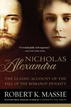 Nicholas & Alexandra...I guess you could call this a double biography.  It is an extremely sad story in the end.  Nicholas was the last tsar of Russia and fell at about the end of WWI.  This is a totally fascinating, true story!