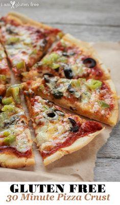 Churros Sin Gluten, Crepes Sin Gluten, Pizza Sin Gluten, Gluten Free Appetizers, Gluten Free Pasta, Gluten Free Baking, Recipe For Gluten Free Pizza Crust, Gf Pizza Dough Recipe, Easy Gluten Free Recipes