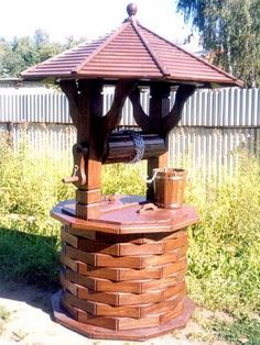 27 Best Water Well Coverd Images Water Well Landscaping Garden Art