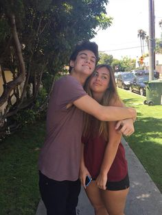 Ethan and his sister omgggg they are so cuteeeee