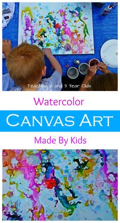 Kids Canvas Painting Class Art ProjectsPreschool ProjectsArt ActivitiesPRESCHOOL