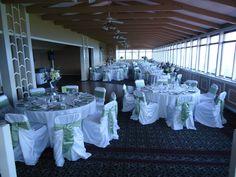 Mission Point Resort's Summit Room Wedding Reception on Mackinac Island