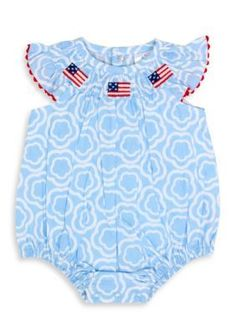 Nursery Rhyme Blue Flag Bodysuit
