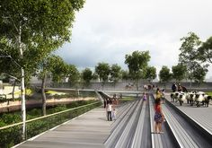 Results of the Competition for the Salford Meadows Bridge