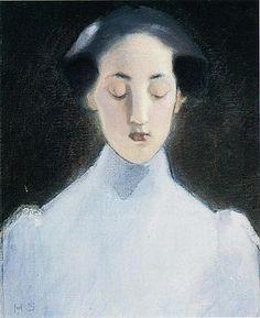 Helene Schjerfbeck, Portraits, Portrait Art, Figure Painting, Painting & Drawing, Futuristic Art, Pictures To Paint, Painting Pictures, Life Drawing