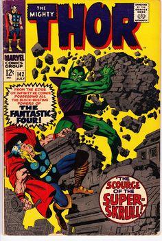 Marvel Comic Books, Comic Books Art, Thor Superhero, Spiderman, Pulp Fiction Comics, Jack Kirby Art, Comic Book Collection, The Mighty Thor, Silver Age Comics