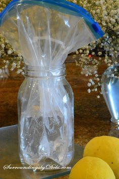Making a Lemon Vase - A Super Simple Summer Arrangement Themed Wedding Cakes, White Wedding Cakes, Wedding Cakes With Flowers, Flower Cakes, Purple Wedding, Gold Wedding, Lemon Vase, Water Centerpieces, Summer Flower Arrangements