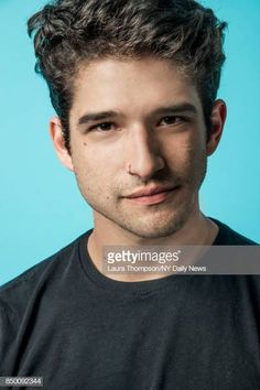 Actor Tyler Posey is photographed for NY Daily News on October 2016 at Comic Con in New York City. Tyler Posey, Italian Male Model, Wolf Tyler, Meninos Teen Wolf, Jon Bernthal, Teen Wolf Cast, Scott Mccall, Famous Stars, Young Actors