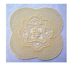 Celtic Knot Doily by Richard Sechriest