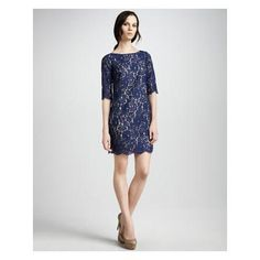 Women's Robert Rodriguez Lace Shift Dress