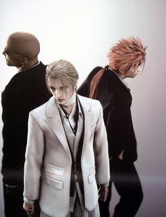 Rude, Rufus Shinra, and Reno...Final Fantasy VII