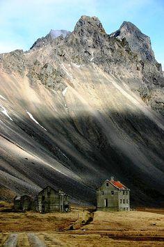 Horn, an abondoned farmhouse in Iceland
