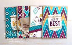 nutmeg creations: Bohemian Challenge - Stampin' UP Artisan Blog Hop