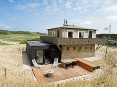 Vakantiehuis de Hut op Vlieland Weekender, Hotels Nl, Time Travel, Netherlands, Holland, Hut, To Go, Cabin, Vacation